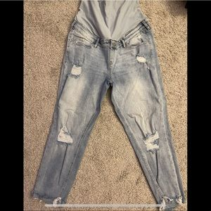 MAMA Girlfriend Ankle Jeans